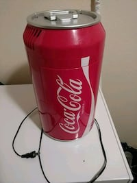 Coca-Cola cooler I believe it fits like 6 cans in Tacoma, 98444