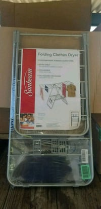Sunbeam Folding Collapsible Clothes Drying Rack Bakersfield, 93309