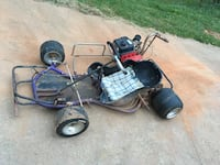 go kart w honda engine , have extra tires , extra engine for parts . looking to trade along with some cash for a four wheeler . pm me for more info  Monroe, 30656