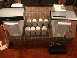 2 bose sound  systems