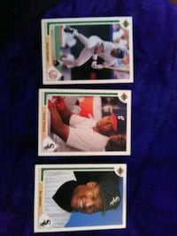 four baseball player trading cards Palmdale, 93551