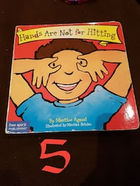 Hands Are Not For Hitting book Milton, L9T 7X3