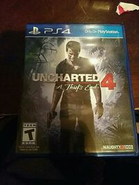 Uncharted 4: PS4 game case Toronto, M9V 4H9