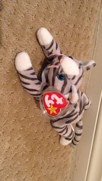 white and gray TY beanie baby cat plush toy Las Vegas, 89144