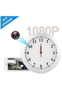 HD 1080P WIFI Hidden Camera Wall Clock Spy Camera with Motion Detection, Security for Home and Office, Nanny Cam/Pet Cam/Wall Clock Cam, Remote-Real Time Video, Support IOS/Android/PC New York, 11226