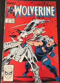 Marvel Comic - Wolverine Vol.1 No.2, Dec 1988. Mint conditio null, 11211