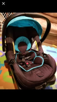 baby's black and blue car seat carrier Brampton, L7A 1K4