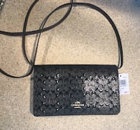 COACH CROSSBODY BLACK BRAND NEW WITH TAGS Nutley, 07110
