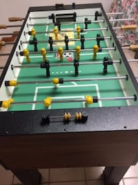 green and brown foosball table Toms River