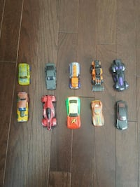 Hot wheels collection 10 toy cars Brambleton, 20148