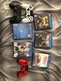assorted Sony PS4 game cases Anaheim, 92802