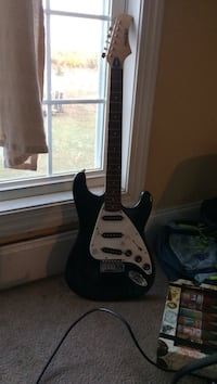 Black and white telecaster electric guitar Augusta, 30909