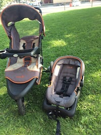 Baby's safety 1st jogging stroller and car seats,great conditions  very clean Toronto, M2R