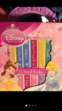DISNEY'S MINI BOARD BOOKS Columbia, 21044