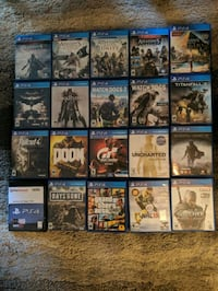 PS4 Games Sterling, 20164