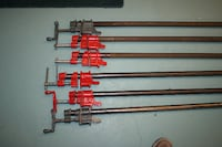 Pipe clamps – ¾ inch diameter x 84 inches in length Oshawa, ON, Canada