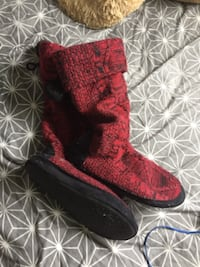 lasenza boot slippers size M (7/8) null