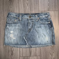 Silver Jeans Denim Skirt, Size 27