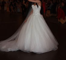 Wedding dress by Sophie's