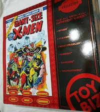 X-Men 6 inch 1990 collector edition new 6 figures  Topeka, 66608