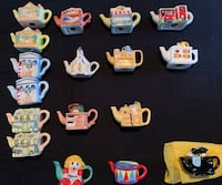 Red Rose tea collectibles from the 90's. 14 unique pieces Aurora, L4G 5M2