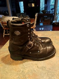 Black Harley-Davidson riding boots Lusby, 20657