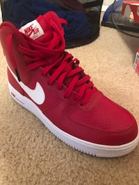 Nike Air Force High Top Size 10 (Red) Columbus, 43085