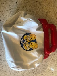 Toy doctors bag with tools