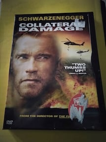 Collateral Damage with Schwarzenegger DVD Movie!