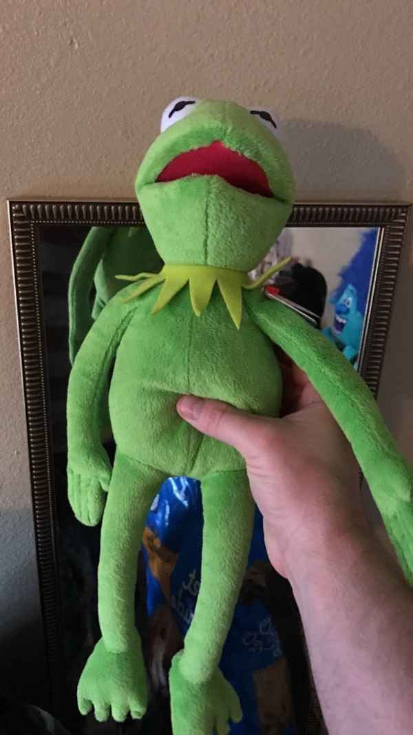 kermit the frog plush toy
