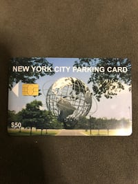 NYC parking card New York, 10472