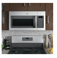 New ge stainless steel microwave Seattle, 98108