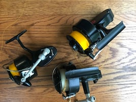 Mitchell fishing reels 3ea or will sell separately  for $75 ea 302/306