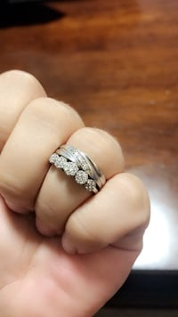 NEW PRICE! 10k Wedding Band 14k Engagement Ring - Originally paid $3 000.00 Grimsby