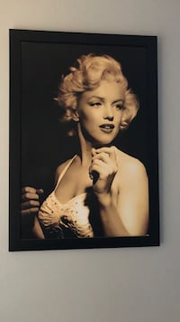 Marilyn Monroe painting with black wooden frame Boulder City, 89005