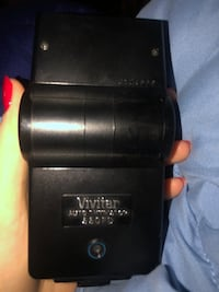 Vivitar auto Thyristor 550 FD flash for Canon