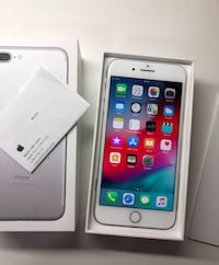 IPHONE 7 PLUS 256GB PLATA 6417 km