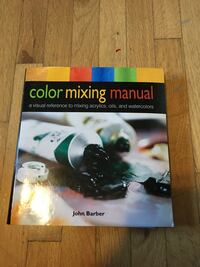 Color Mixing Manual book by John Barber null, V0R