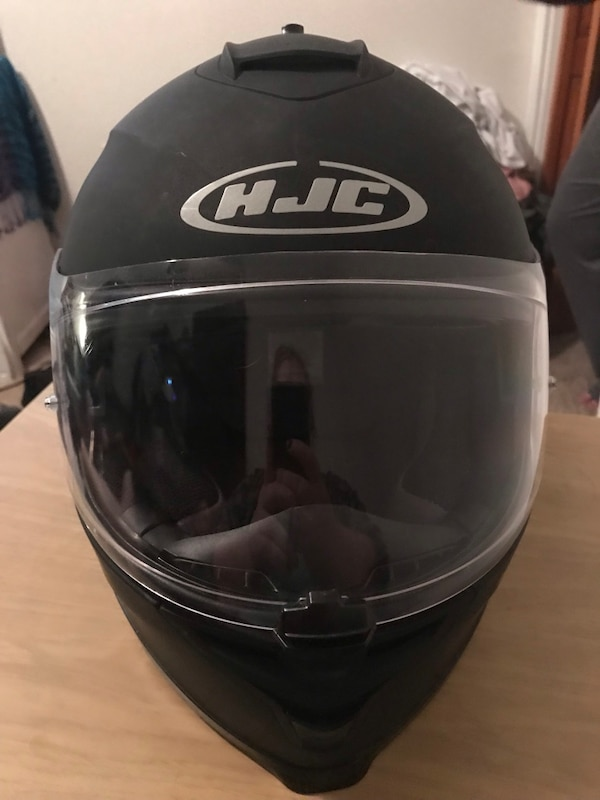 HJC IS-17 Matte Black Motorcycle Helmet 4db12be8-1d14-4f1d-b4db-3142da14a9d9