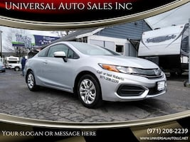 2014 Honda Civic LX 2dr Coupe CVT