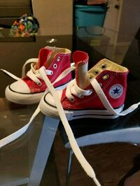 pair of red Converse All Star high-top sneakers Littleton, 80128