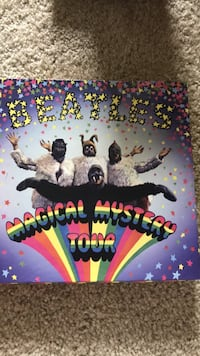 The Beatles Magical Mystery Tour Vinyl, Book and Blue-Ray & other DVD Los Angeles, 90045