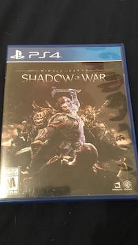 Middle Earth Shadow Of War Ps4 Winnipeg, R2X 0B9