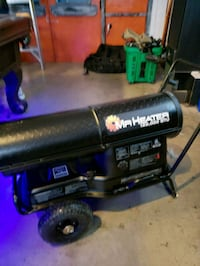 black and blue portable generator Spruce Grove, T7Y 1A1