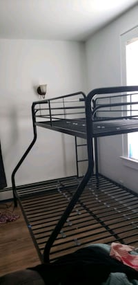 Twin and full bunk bed frame . Ready to pick up  Manville, 08835