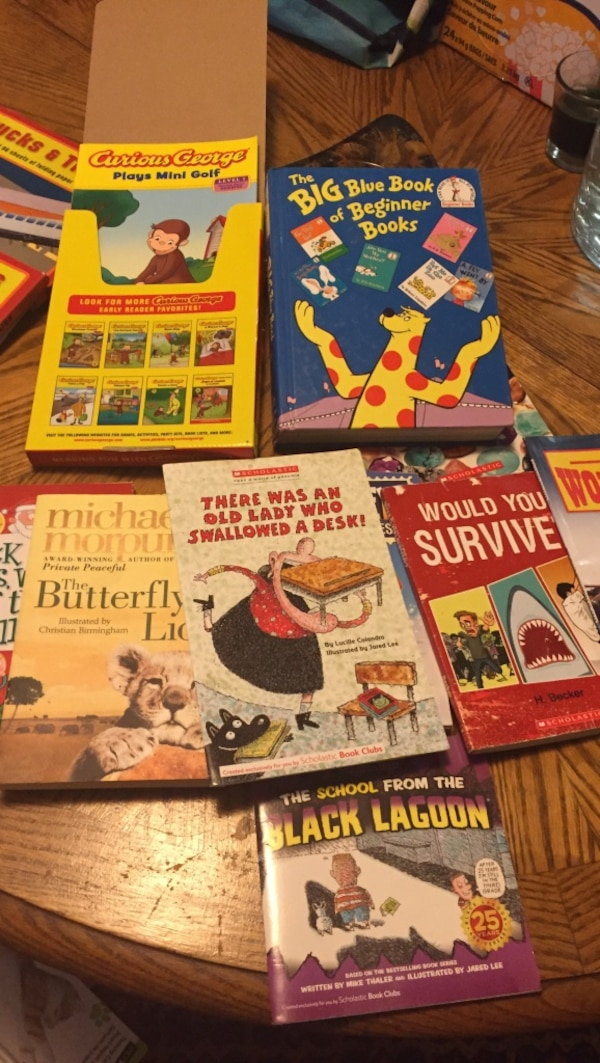 assorted storybook lot