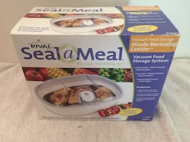 Seal-a-Meal VACUUM FOOD STORAGE NEW !  AIR OUT FRESHNESS FLAVOR IN