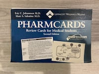 MEDICAL SCHOOL REVIEW CARDS (PHARMCARDS)