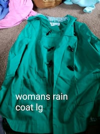 Womans rain coat Muskegon, 49445