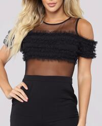 Black Mesh Jumpsuit Chevy Chase, 20815